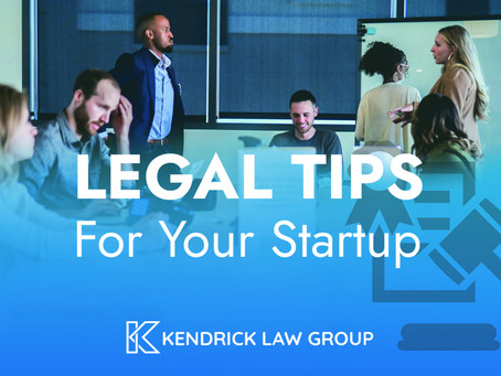 Legal Tips for Your Startup
