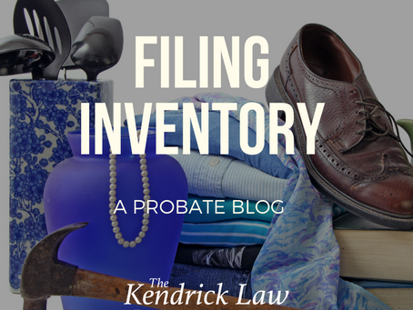Filing Inventory