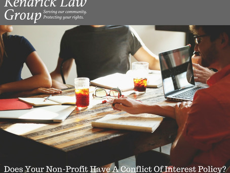 Does Your Non-Profit Have A Conflict Of Interest Policy?