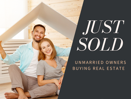 Unmarried Owners Buying Real Estate
