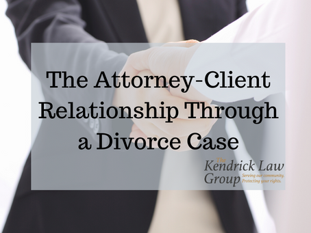 The Attorney-Client Relationship Through a Divorce Case