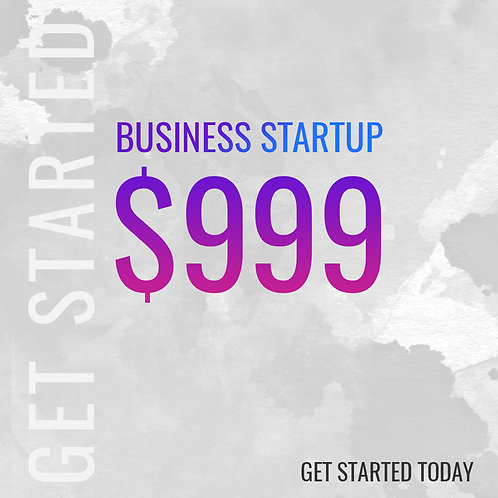 BUSINESS START UP PACKAGE
