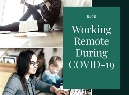 Working Remote During COVID-19