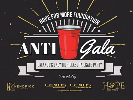 HOPE FOR MORE FOUNDATION ANNOUNCES 2021 ANTI-GALA DETAILS AND BENEFICIARY