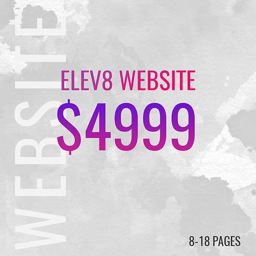 ELAV8 CUSTOM WEBSITE