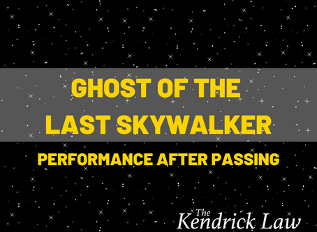 Ghost of the Last Skywalker – Performance After Passing