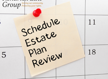 Time to Update Your Estate Plan