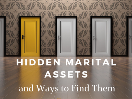 Hidden Marital Assets and Ways to Find Them
