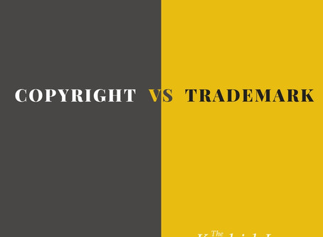 Is Your Intellectual Property Asset a Copyright or a Trademark?