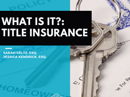 What Is It?: Title Insurance
