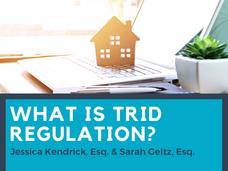 What is TRID Regulation?