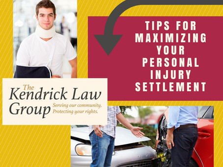 Tips for Maximizing Your Personal Injury Settlement or Award