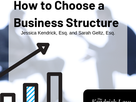 How to Choose a Business Structure