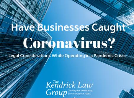 Have Businesses Caught Coronavirus?