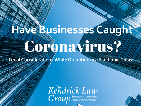 Have Businesses Caught Coronavirus?