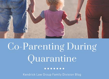 Co-parenting during Quarantine