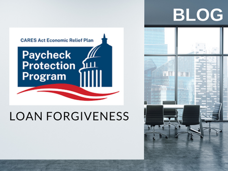 Paycheck Protection Program: Loan Forgiveness