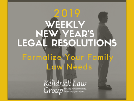 Formalize Your Family Law Needs