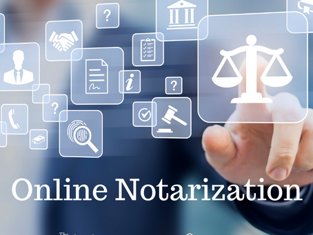 The Dawn of the Online Notaries