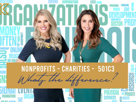 Nonprofits, Charities, 501c3 … What's the difference?