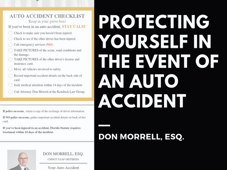 Protecting Yourself in the Event of an Auto Accident