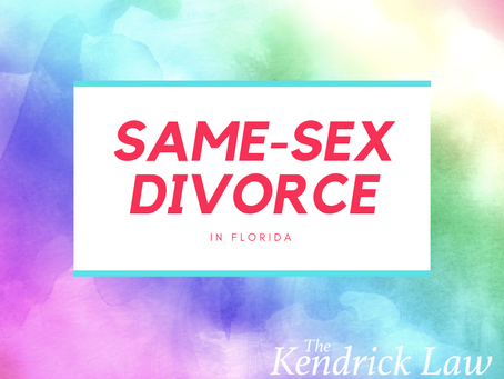 SAME-SEX DIVORCE IN FLORIDA