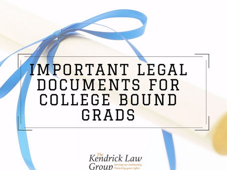 LEGAL DOCUMENTS TO SIGN BEFORE HEADING OFF TO COLLEGE