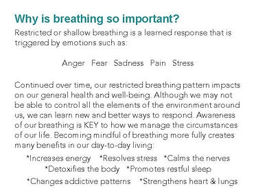 Transformational Breath Introductory Workshop. Heartspace.ie