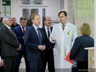 Врио губернатора Алтайского края вчера познакомился с работой медицинских организаций Рубцовска
