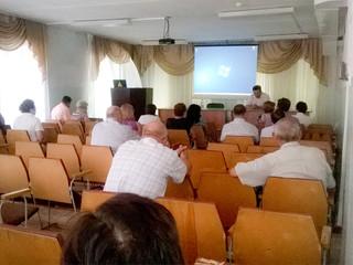 В КГБУЗ Городская больница №2  прошло совещание руководителей медучреждений Рубцовской  медико-геогр