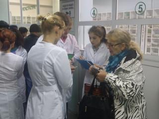 Студенты Рубцовского медицинского колледжа – участники проекта «Бережливая поликлиника»