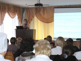 Врачи акушеры-гинекологи приняли участие  в научно-практическом семинаре