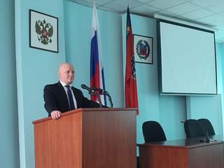 Доклад главного врача на заседании комитета Рубцовского городского Совета депутатов
