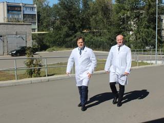 14 сентября с рабочим визитом нас посетила делегация руководителей краевого и городского звена