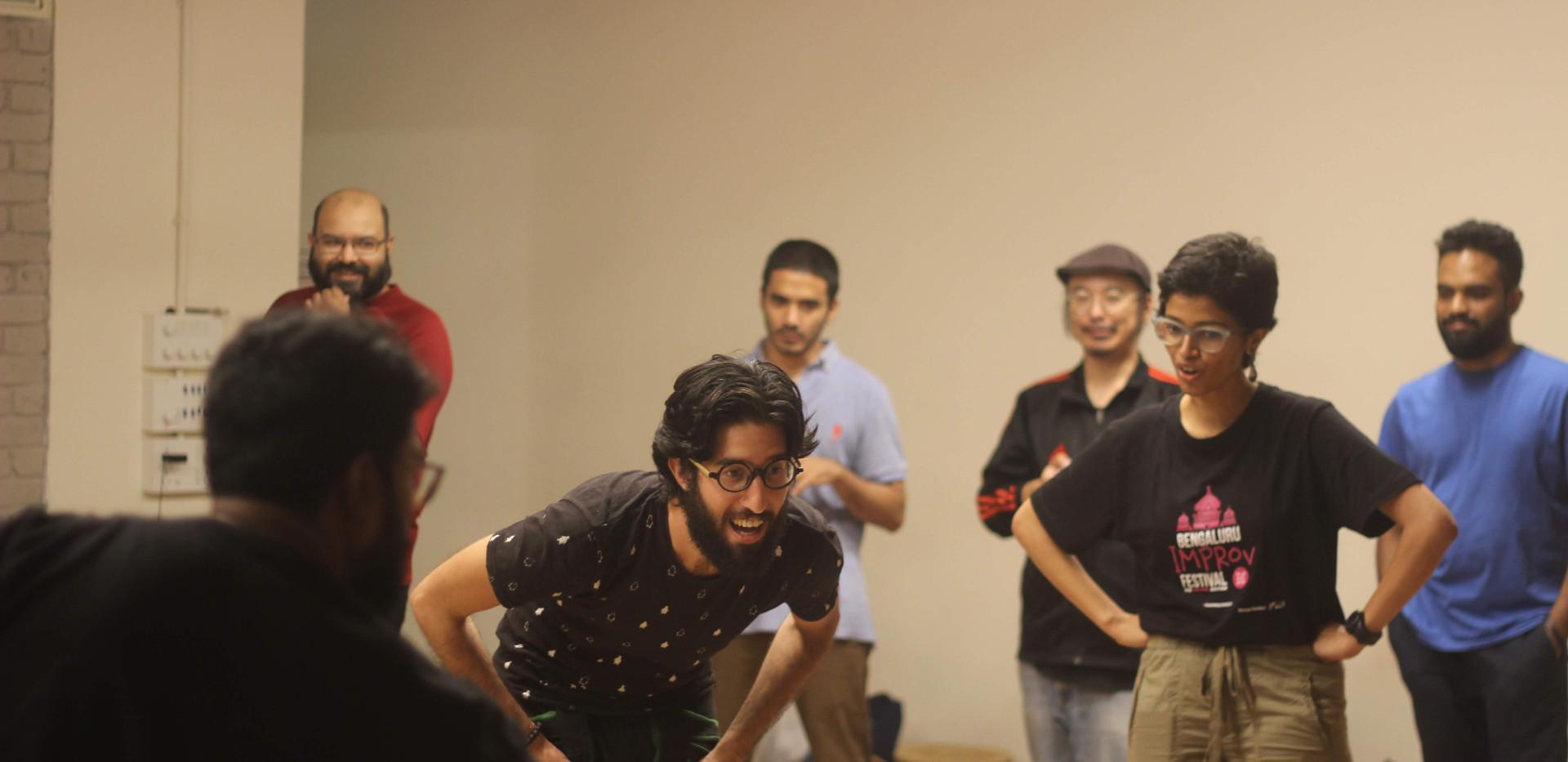 Improv for Wellness Jam at Bengaluru Improv Festival