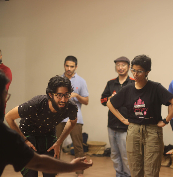 Improv for Wellness Jam at Bengaluru Improv Festival
