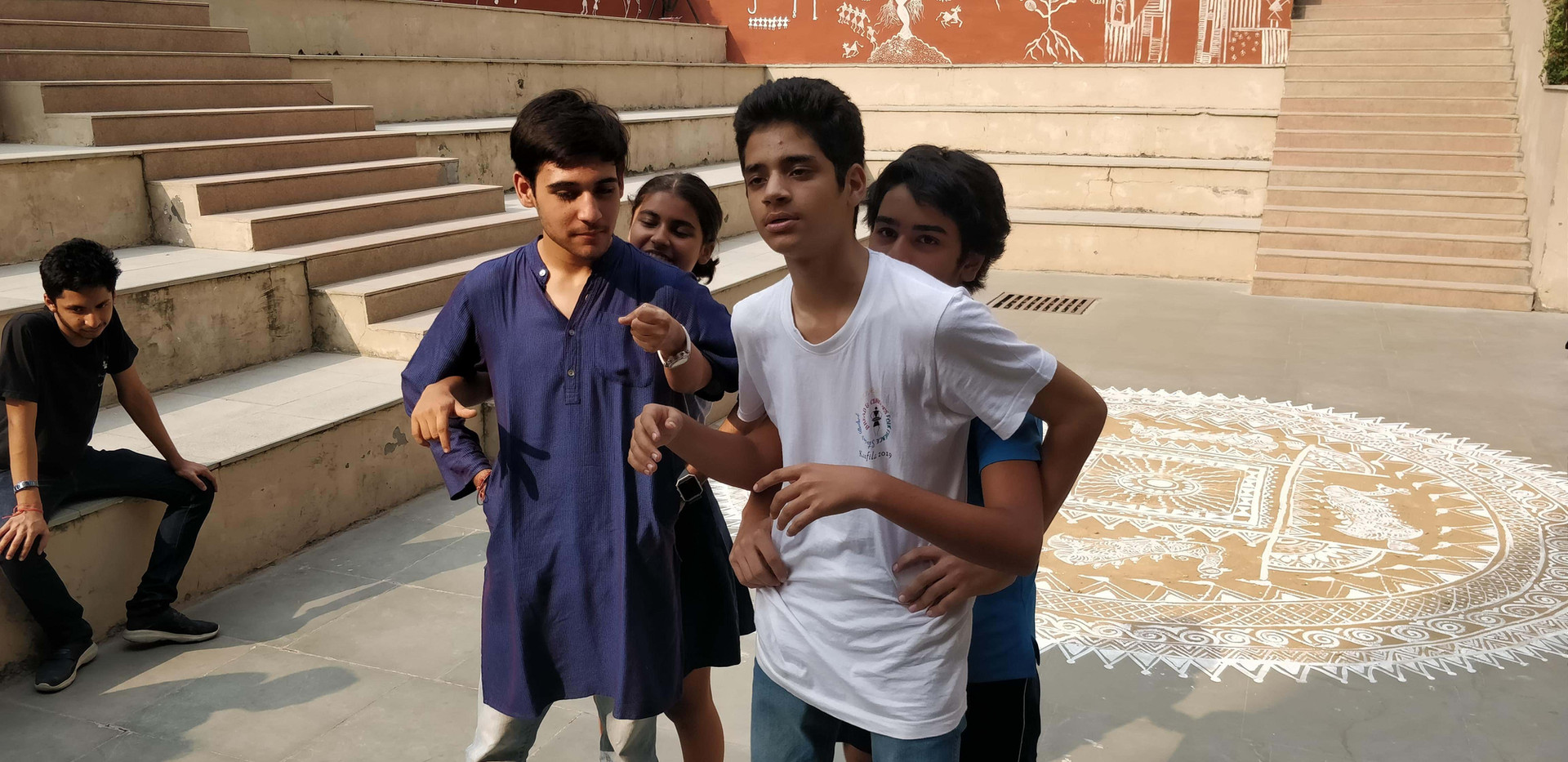 Improv Storytelling Workshop at Shiv Nadar School