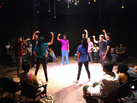 The Hindu: A Peek Into The World Of Improvisational Theatre