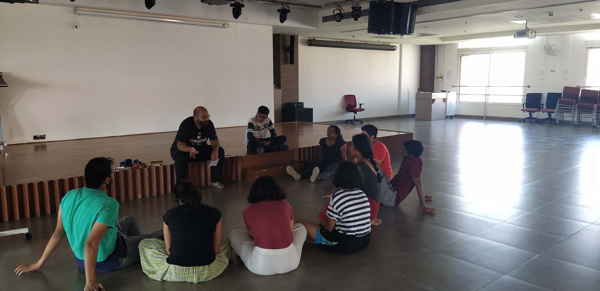 Improv for Performance & Safe Spaces at Ashoka University