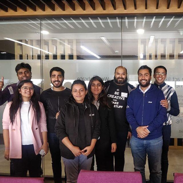 Improv for Team-Building Workshop at Uber India