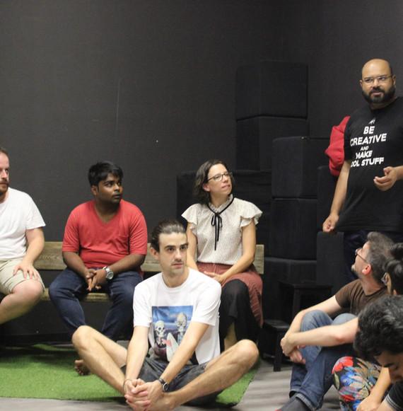 Improv for Wellness Workshop at Calambur Teatro Spain