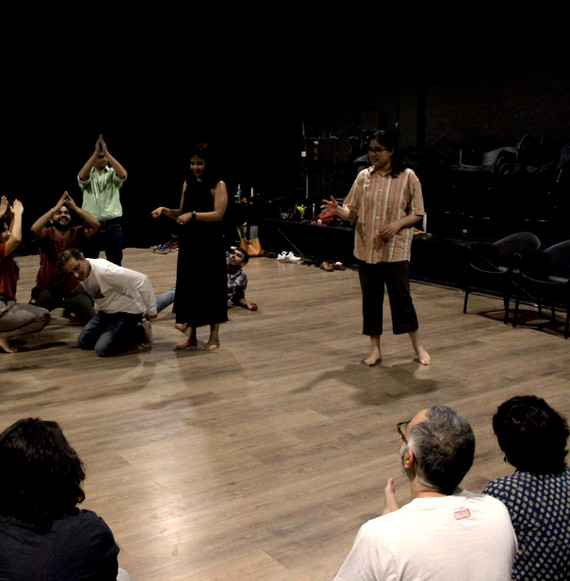 Improv for Wellness Workshop at Oddbird Theatre