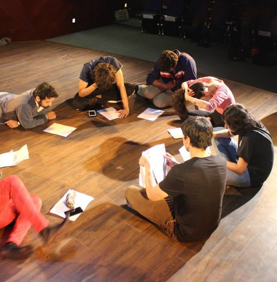 Staging for Theatre Workshop at Insituto Cervantes