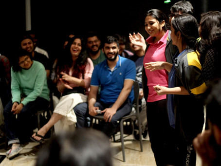India Theatre Guide: Review of 'Unravel', An Improv Play about Mental Health by Kaivalya Plays