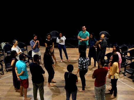 The Indian Express: Theatre In Lockdown
