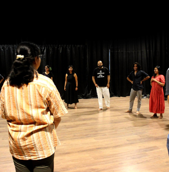 Improv for Wellness Workshop at Oddbird Theatre