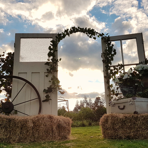 FRENCH DOOR ARCH