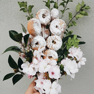 How to make a donut bouquets
