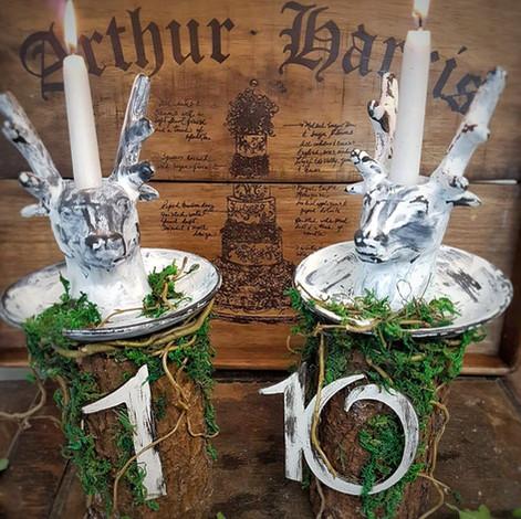 Rustic Deer Table Numers