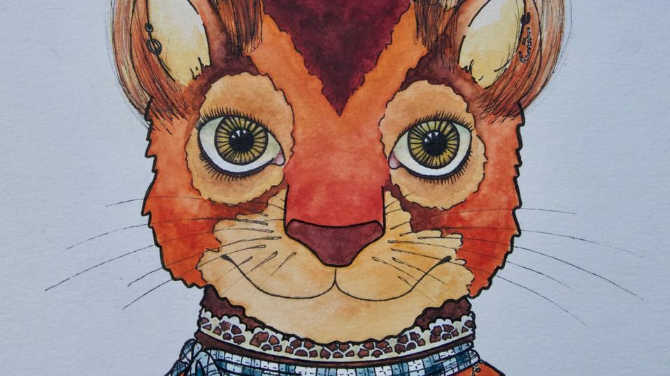 red squirrel detail 3